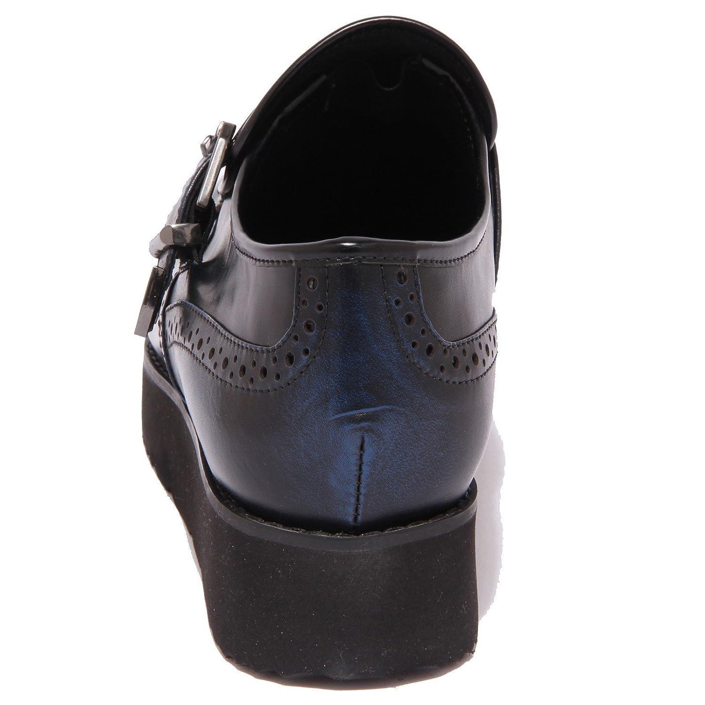 MASSIMO SANTINI 8677P Scarpa all'inglese Blu Scarpa Blu Damenschuhe Schuhe Woman Blu Scarpa 87e9c2