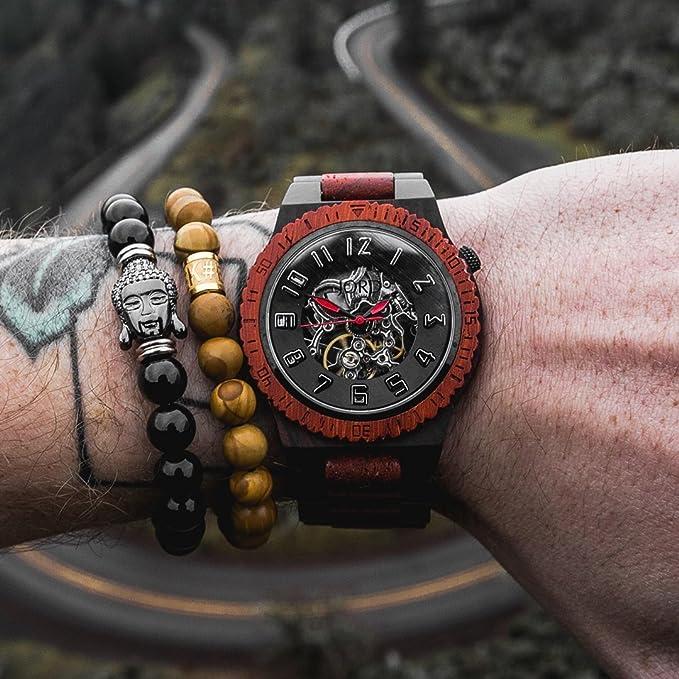 Rose Wood Wrist Watch
