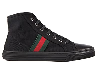 ec407a1a243 Gucci women s shoes high top trainers sneakers black UK size 6 283613 F6LC0  1068