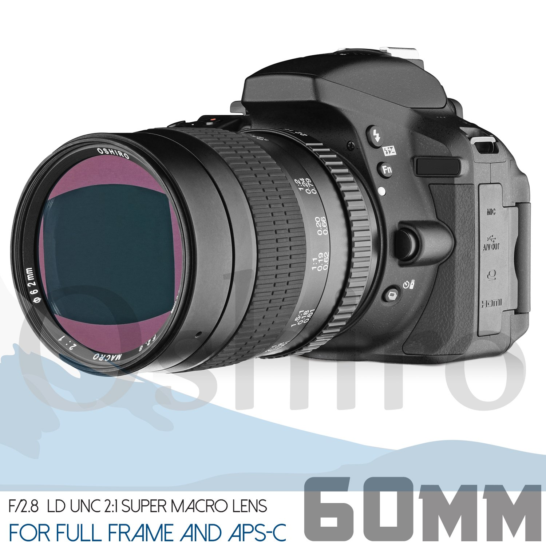tatsuhiro 60 mm f/2.8 2: 1 LD UNC: Amazon.de: Elektronik