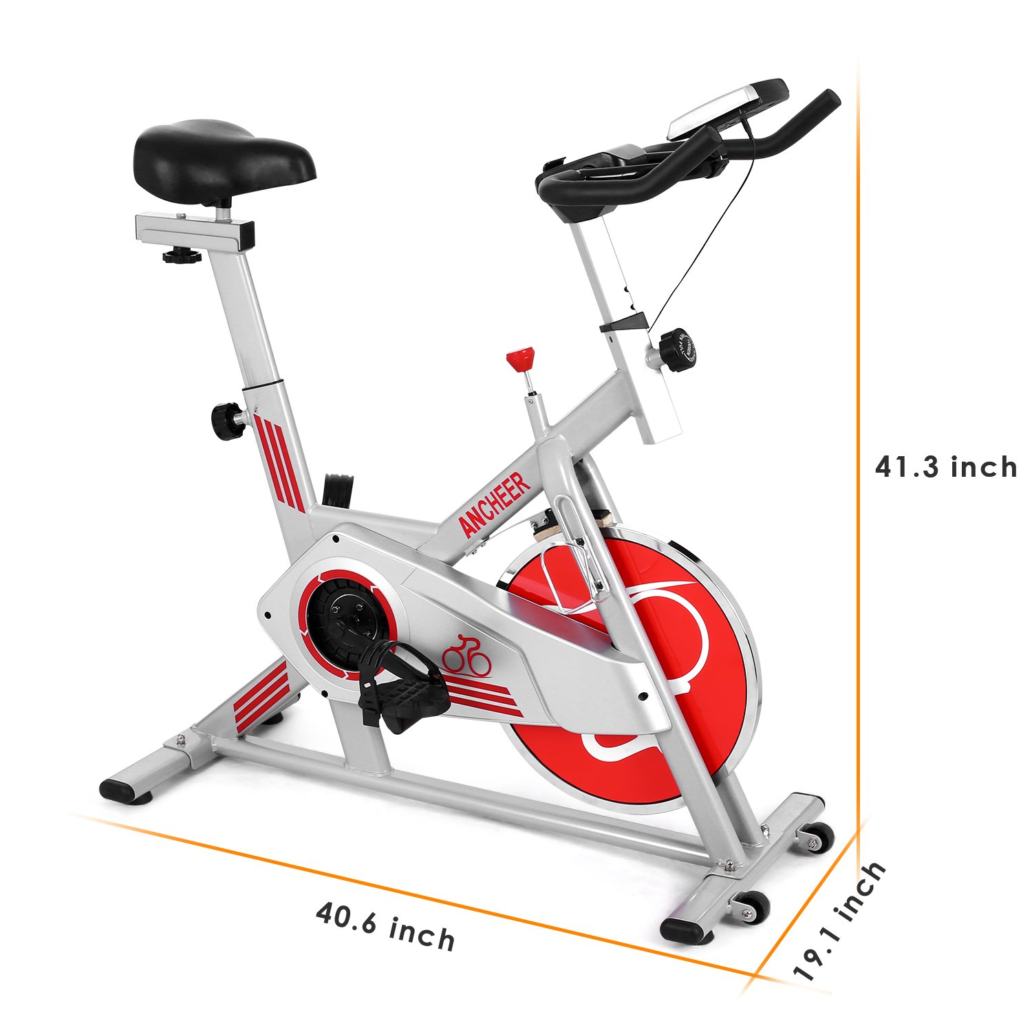 ANCHEER Indoor Cycling Bike, Smooth Quiet Belt Drive Indoor Stationary Exercise Bike (Model: ANCHEER-M6008) by ANCHEER (Image #1)