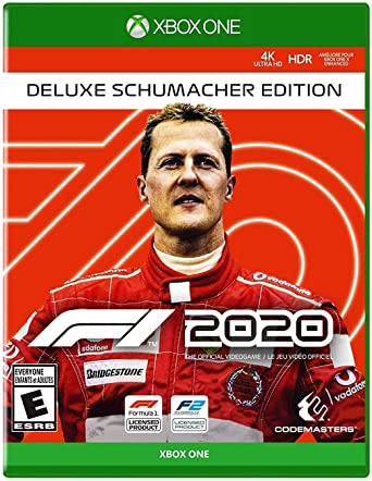 Amazon Com F1 2020 Deluxe Schumacher Edition Xbox One Deluxe Schumacher Edition Nordic Games Video Games