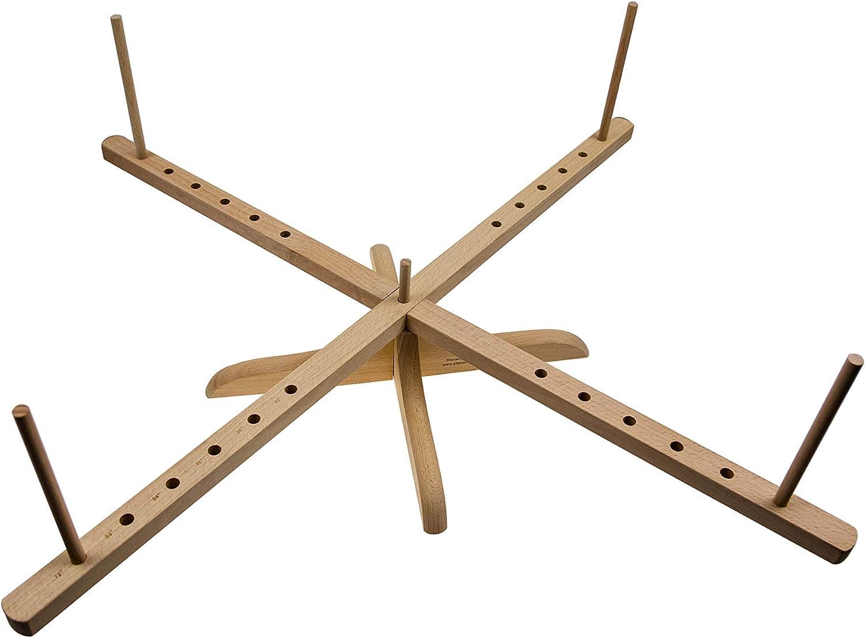 Stanwood Needlecraft Tabletop Amish Style Wooden Yarn Swift