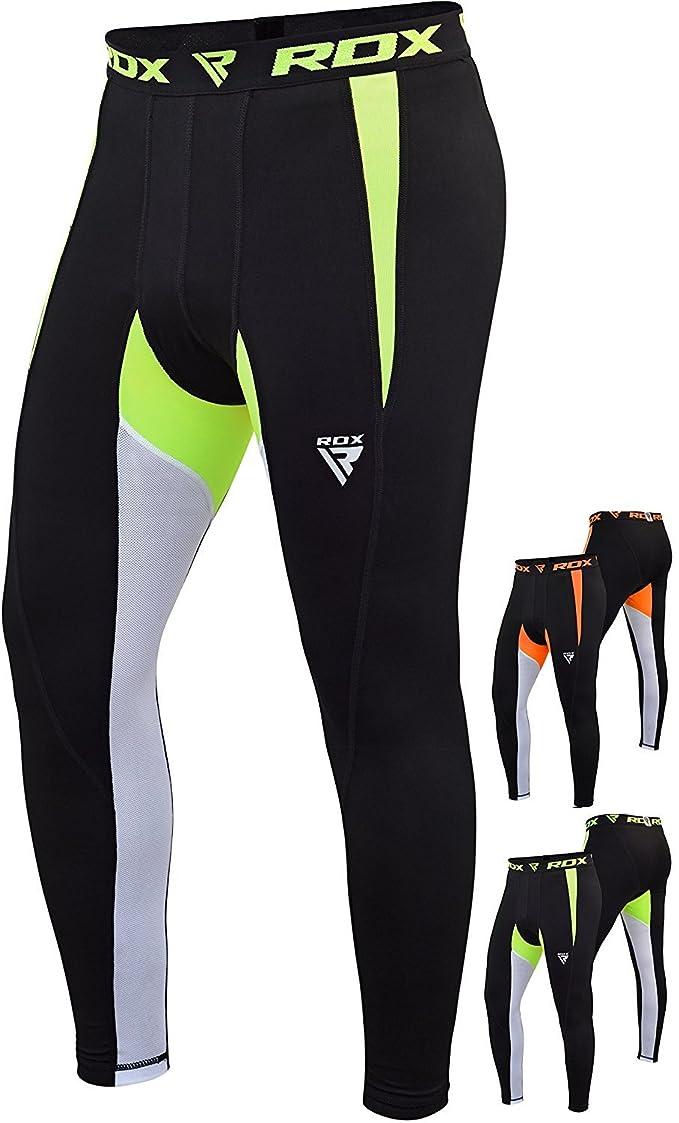 RDX Compresión Neopreno Pantalones Cortos Termicos Pants Ropa Deportiva Base Layer Tight