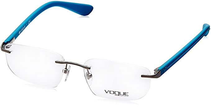 Vogue Rimless Oversized Men\'s Spectacle Frame - (0VO4004I548S52|52 ...