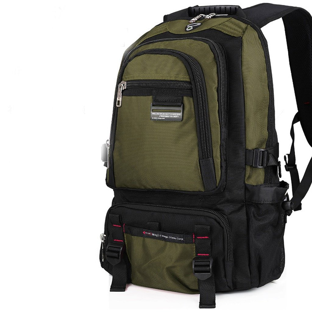 AMOS Sac bandoulière à grande capacité sac à dos pour hommes femme voyage voyage voyage sac ordinateur ordinateur universitaire sac