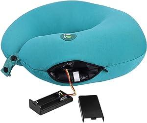 ETTG Neck Pillow Massager,6 Modes,Portable Travel Pillows Car Home Use,Cervical Pain Relief Pillow Massage