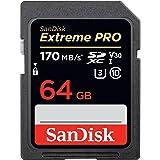 Cartão de memória SanDisk 64GB Extreme PRO UHS-I SDXC (3216658163)
