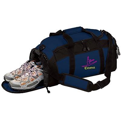 Personalized Dance Gym Sports Duffel Bag (Navy)