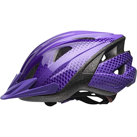 70eb902092d Buy Bell Rival Child Bike Helmet Purple Halo Online at Low Prices in India  - Amazon.in