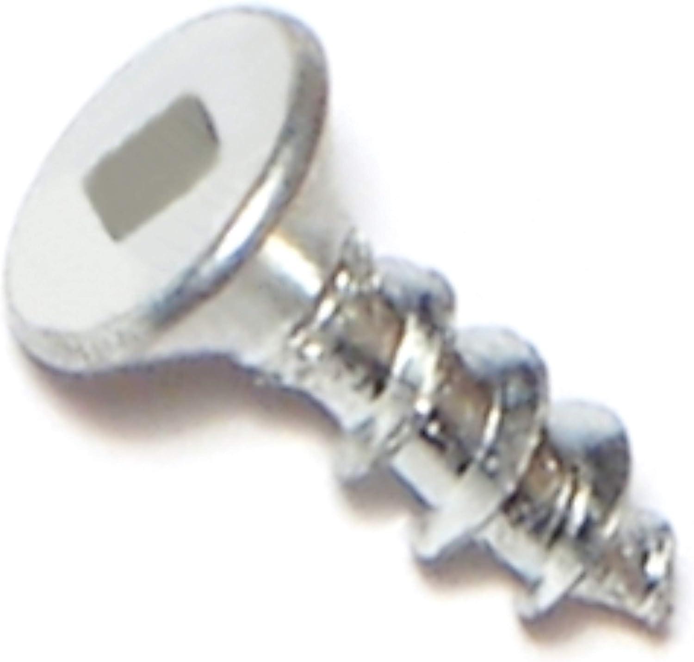 Piece-100 Hard-to-Find Fastener 014973302559 Square Drive All Purpose Screws 6 x 1
