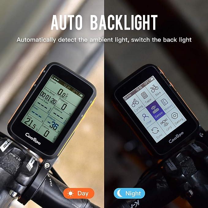 CooSpo Ciclocomputador inalámbrico, con GPS, función ANT+, cuentakilómetros  para bicicleta, inalámbrico, resistente al agua IP67, cuentakilómetros para  ciclismo (instrucciones en alemán): Amazon.es: Deportes y aire libre