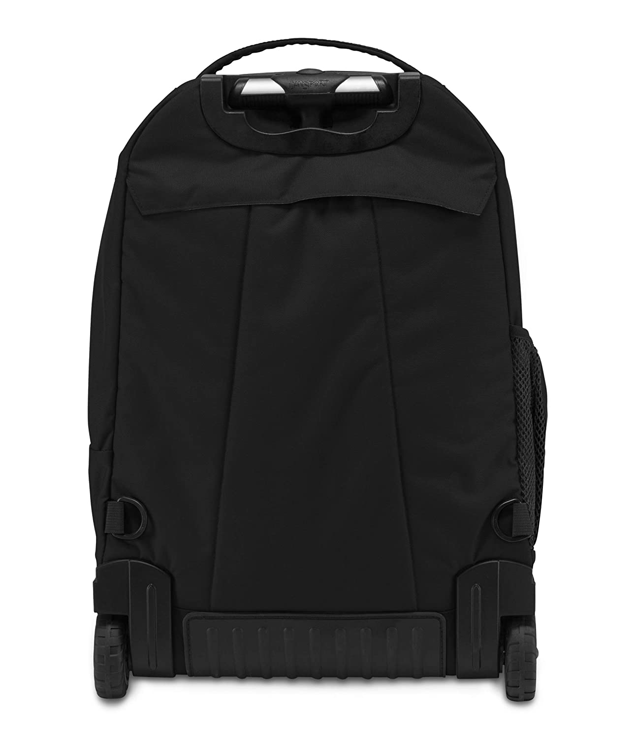 f534fd4a6ebf JanSport Driver 8 Wheeled Trolley Laptop Backpack (Black)  Amazon.in  Bags