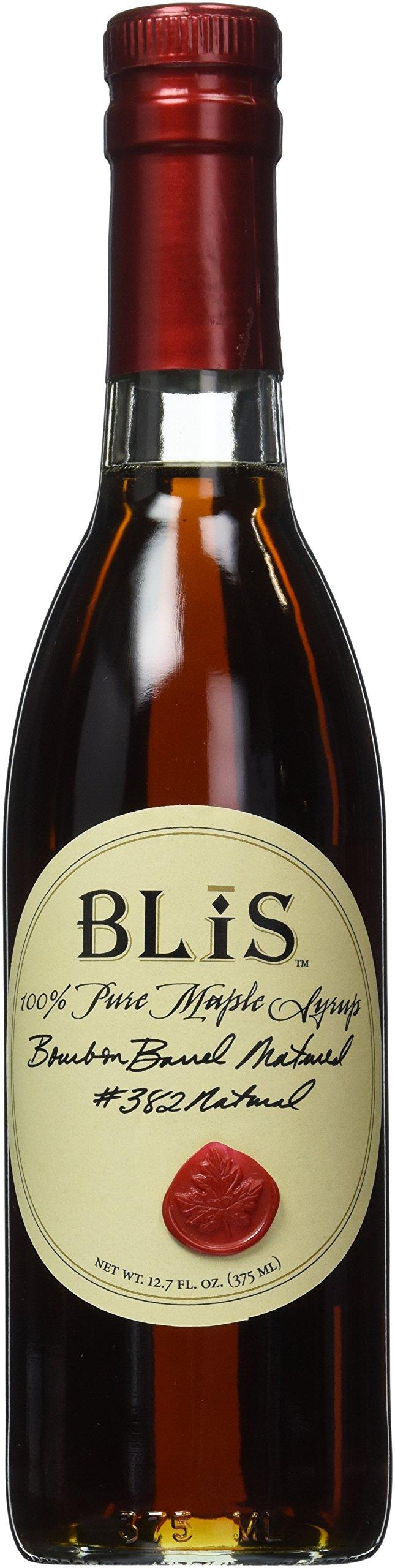 BLiS Bourbon Barrel Matured Pure Maple Syrup, 12.7 Fluid Ounce