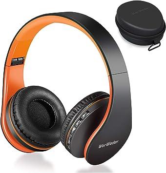 Auriculares Bluetooth de oreja, inalámbricos, plegables, estéreo de alta fidelidad, auriculares con cable, 4 en 1, micro soporte, tarjeta SD/TF, teléfonos móviles de viaje Samsung (oro rosa): Amazon.es: Electrónica