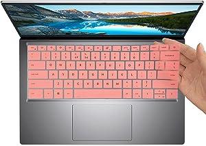 KeyboardCoverforNewDellInspiron145000Model541054155418Laptop,LastestDellInspiron145000LaptopAccessoriesProtectiveCoverSkin(NotFitDellLatitudeModel)-Pink
