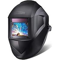 Casco de soldadura, Tacklife-PAH03D-Caretas para soldar 100*73 mm gran ventana, casco solar de 1/1/1/1 de Oscurecimiento…