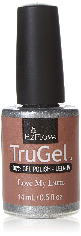 Amazon.com : EZ Flow 3rd Launch Gel Polish, Love My Latte, 0.5 Fluid ...