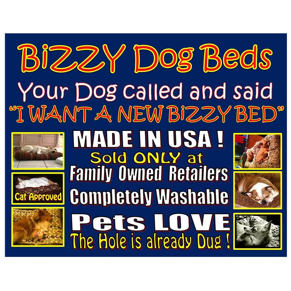 Bizzy Bed Large Pet Bed for Dogs outlet - dorlando-griffe.com