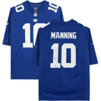$309 » Eli Manning New York Giants Autographed Blue Nike Replica Jersey - Fanatics Authentic Certified - Autographed NFL Jerseys
