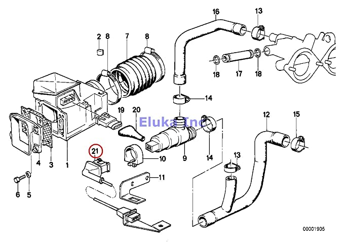 Amazon Com Bmw Genuine Carburetor Engine Wiring Harness Fuel