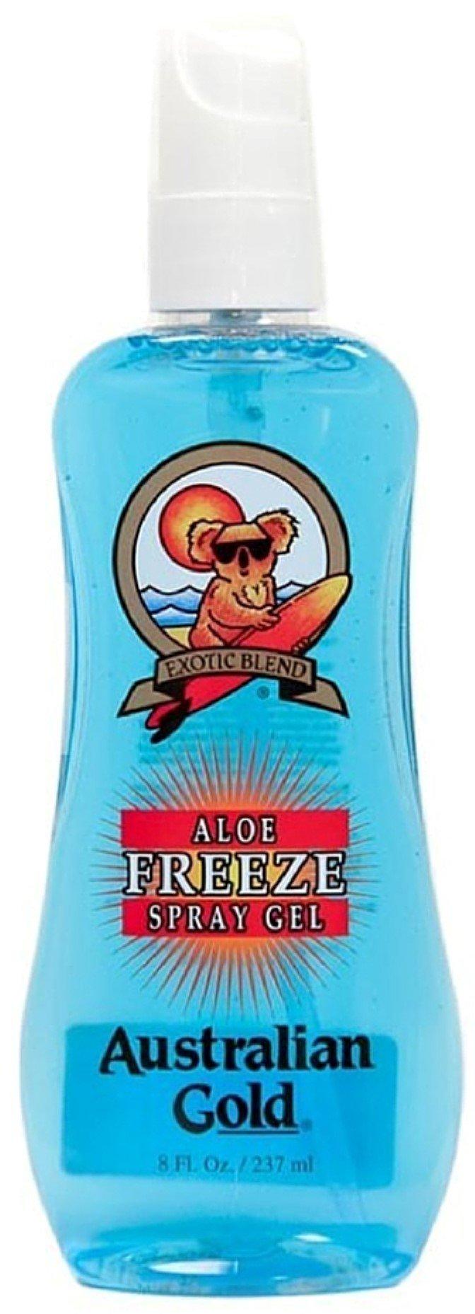 Australian Gold Aloe Freeze Spray Gel 8 oz (Pack of 12)