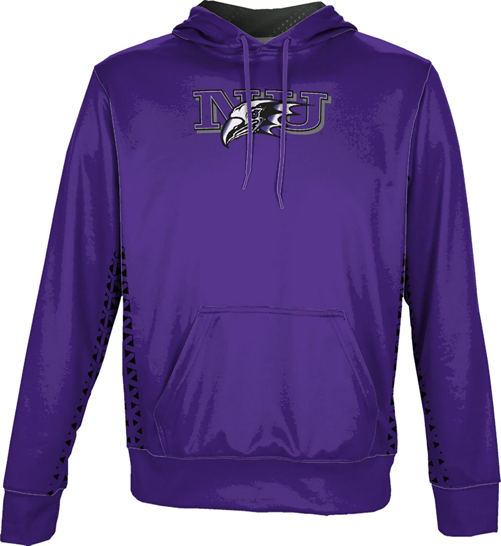 ProSphere Niagara University Mens Pullover Hoodie Geometric School Spirit Sweatshirt