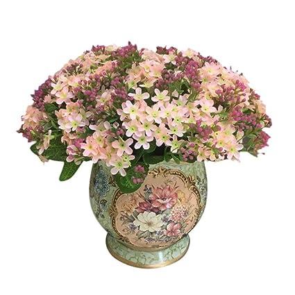 Amazon braceus 1x bouquet of forget me notartificial little braceus 1x bouquet of forget me notartificial little flower silk flowers party bridal bouquet mightylinksfo