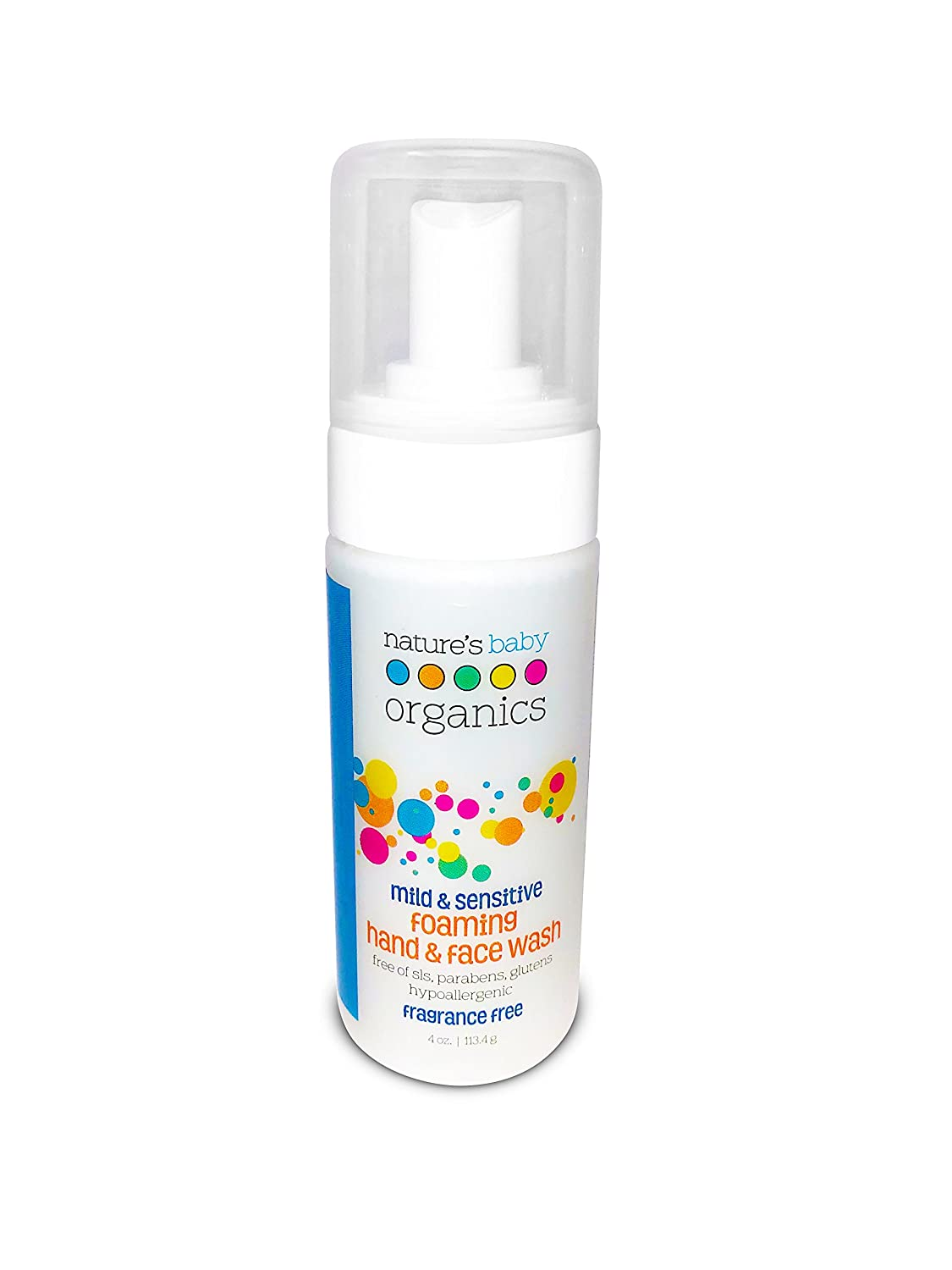 Nature's Baby Organics Foaming Face Cleanser & Hand Wash