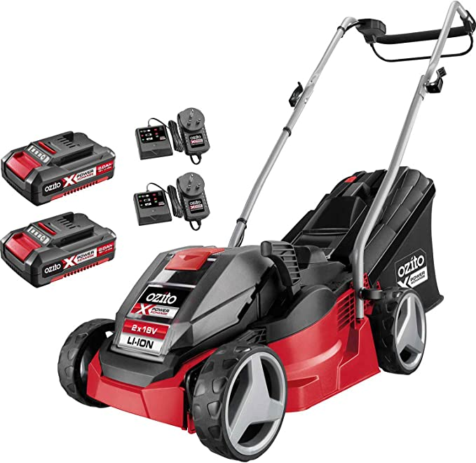 Ozito Cordless Lawn Mower PXCLMK-218U - Best System Technology