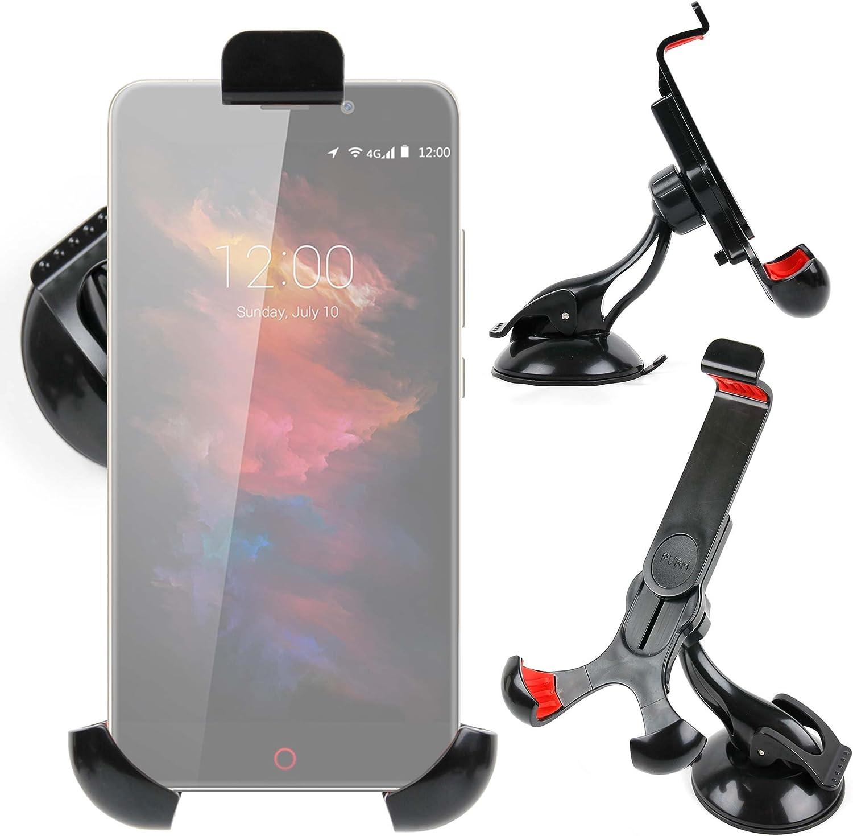 DURAGADGET Soporte Giratorio para Coche para Smartphone UMI MAX | Touch | Super | Motorola Moto X Play | ZTE Axon Mini | Blackberry Priv: Amazon.es: Electrónica