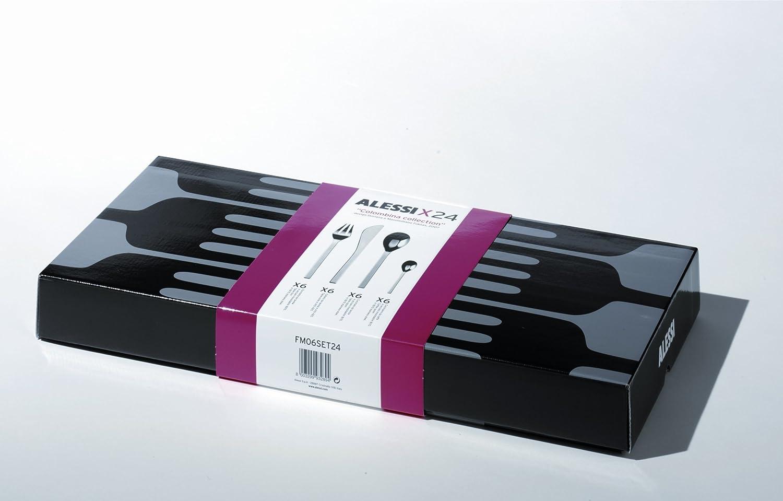 Alessi FM06S24 24pieza(s) Cromo juego de cubertería - Juegos de cubertería: Amazon.es: Hogar