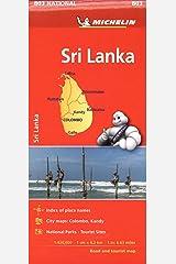 Michelin Sri Lanka Road & Tourist Map 803 Map