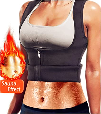 f09d54d885 AL IVER Hot Sweat Slimming Neoprene Shirt Women s Sauna Suit Waist Trainer  Corset Vest Body