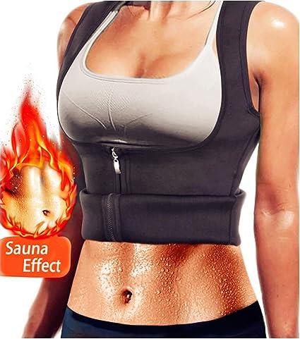 1dcdf8ed3cab5 AL IVER Hot Sweat Slimming Neoprene Shirt Women s Sauna Suit Waist Trainer  Corset Vest Body