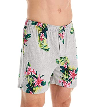 c46752da15a2 Tommy Bahama Men's Large Floral Knit Boxer at Amazon Men's Clothing store: