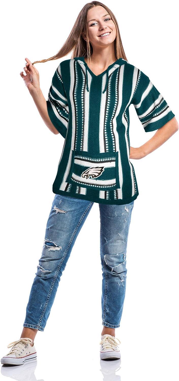 NFL Philadelphia Eagles Baja Hoodie Large//XL