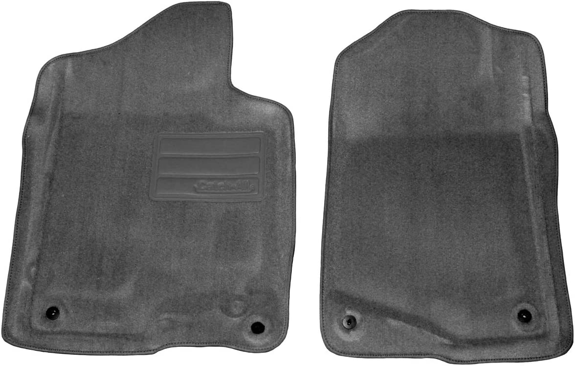 Set of 2 Lund 609561 Catch-All Carpet Black Front Floor Mat