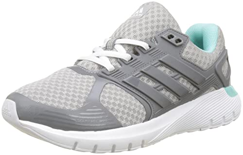 adidas Duramo 8 W, Scarpe Running Donna, Grigio (Grey Two/Grey Three/Energy Aqua), 41 1/3 EU