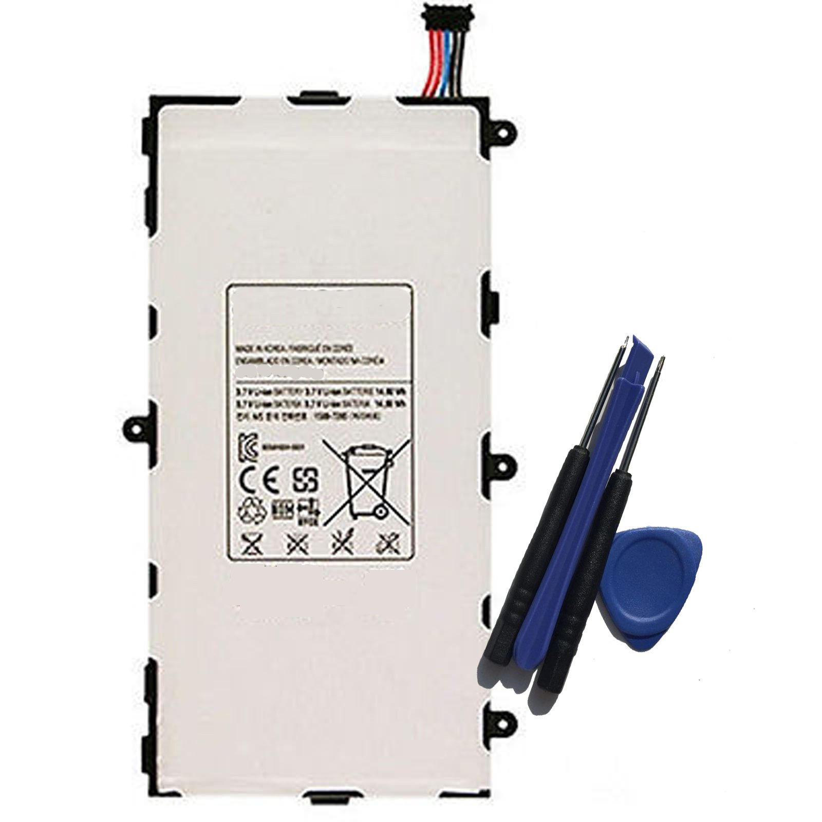 Aowe Replacement for Samsung LT02 Battery T4000E Galaxy Tab 3 SM-T217A SM-T217S T217 T217S Tablet 4000mAh with Installation Tools
