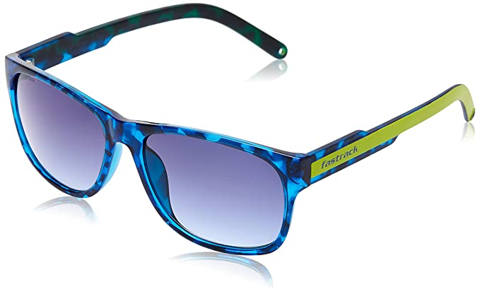 ccae6a3b6c50 Image Unavailable. Image not available for. Colour  Fastrack Sundowner UV  Protected Wayfarer Unisex Sunglasses ...
