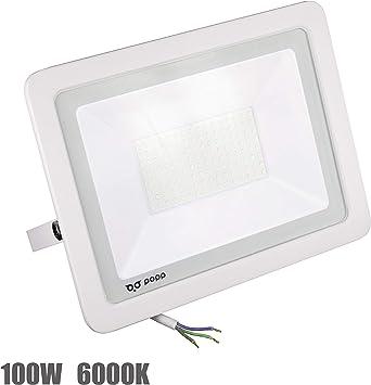 Popp Floodlight Led Foco Proyector Led para Exterior Iluminación ...