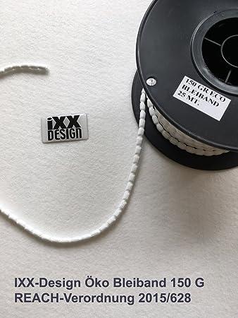 Amazon.de: Bleiband, Bleischnur zur Beschwerung der Gardinen, 150