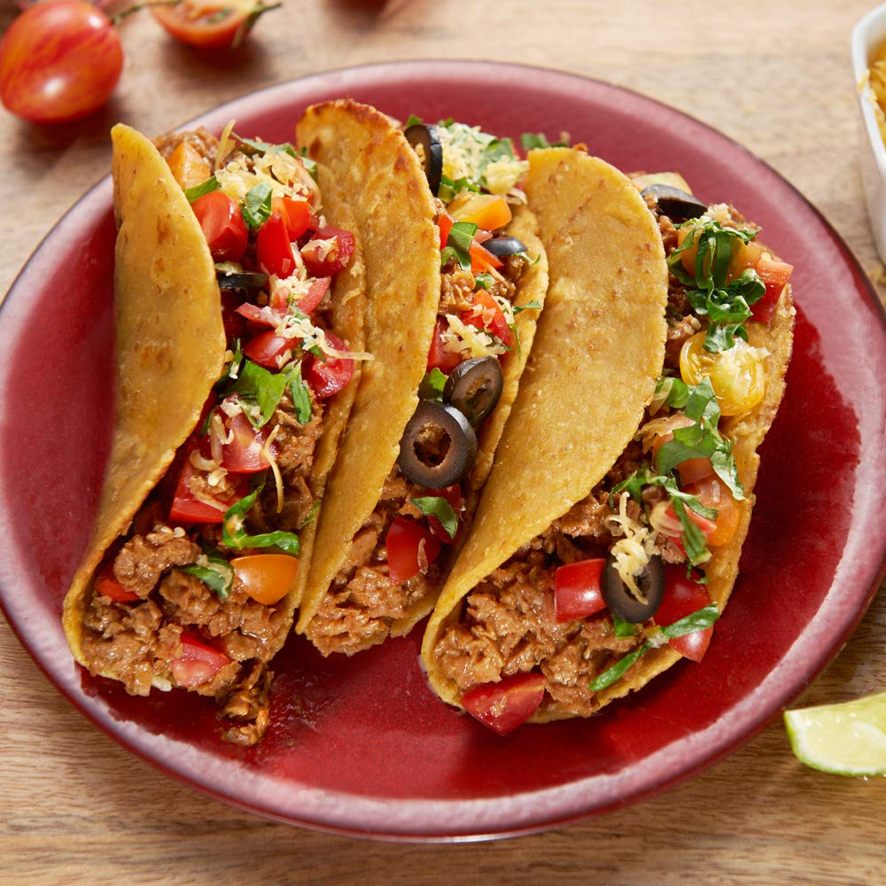 Loma Linda Blue - Plant-Based Meal Solution - Taco Filling (10 oz.) (Pack of 6) - Non-GMO, Gluten Free by Loma Linda (Image #3)