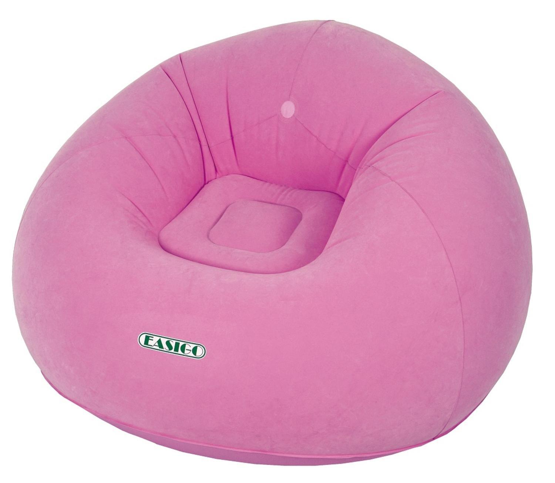 Pool Central 41'' Round Flamingo Pink Easigo Inflatable Single Person Sofa