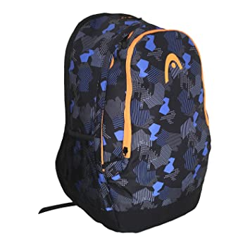 HEAD Polygon Mochila tipo casual, 47 cm, Azul (Navy Blue ...