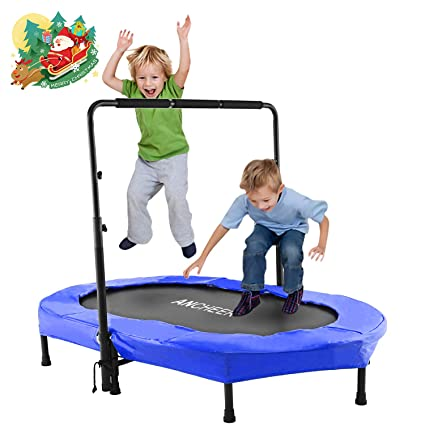 ANCHEER Foldable Trampoline -The Best Parent-Child Trampoline