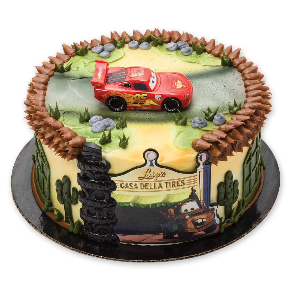 Amazon.com: DecoPac Cars Radiator Springs DecoSet Cake Topper: Toys ...