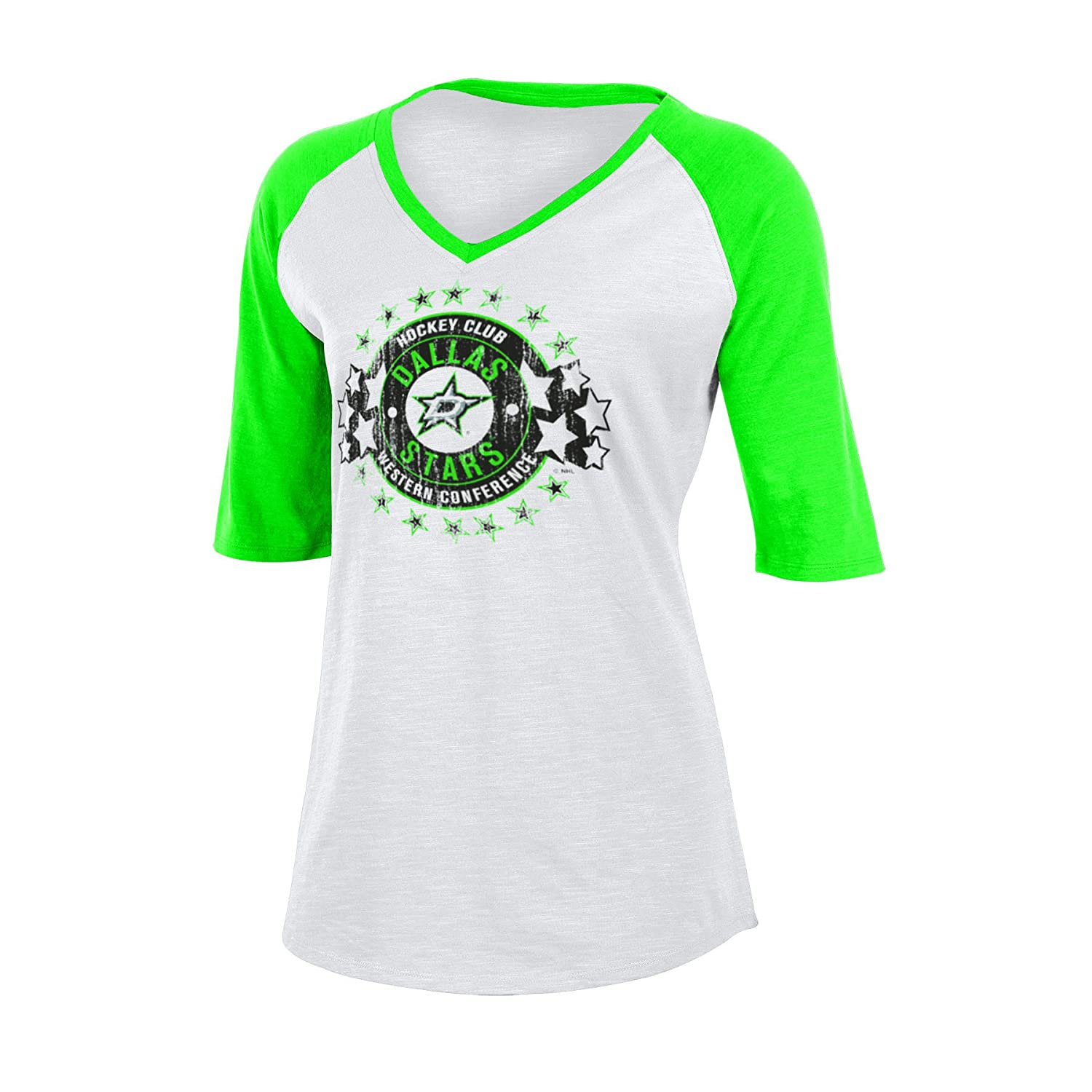 45c4ced12 Amazon.com   Knights Apparel NHL Women s Slub V Neck Tee   Sports   Outdoors