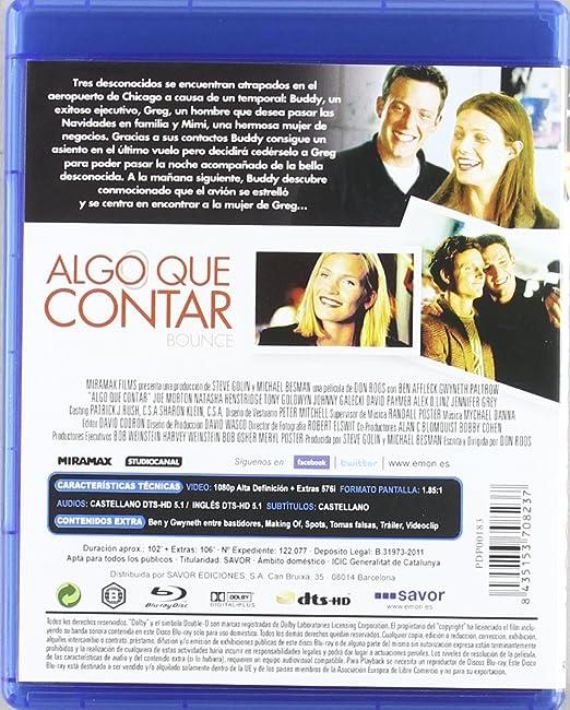 Amazon.com: Algo Que Contar (Blu-Ray) (Import Movie ...